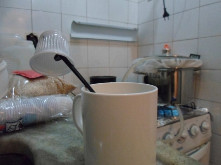 preparando o fermento 2